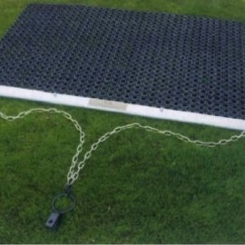 Rubber sleepmat, 1.5x1m