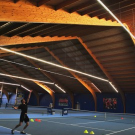Renovatie | Indoor hardcourt Proflex | Tennis Vlaanderen - afbeelding